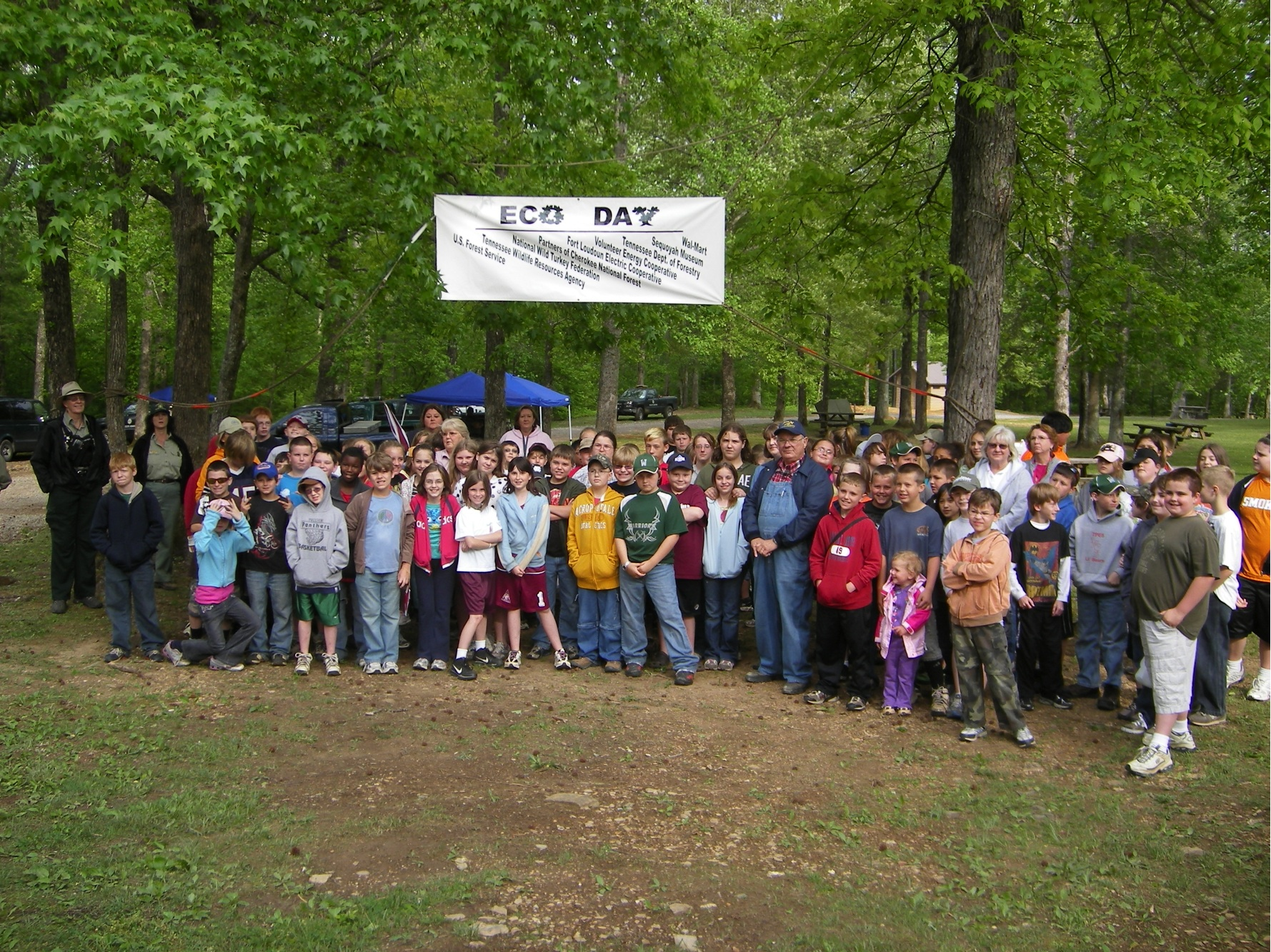 Eco Days - A continuing project to help children discover the forest